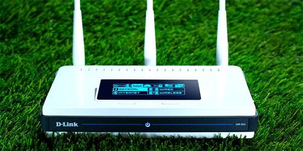 Мощный двухканальный роутер D link