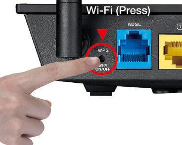 Для сброса настроек необходимо нажать и удержать пару секунд эту кнопку.