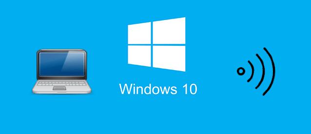 Как раздать интернет по Wi-Fi с ноутбука на Windows 10
