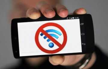 Что делать если вай-фай перестал ловить на телефоне
