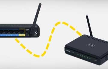 Как подключить два роутера к одной сети по кабелю